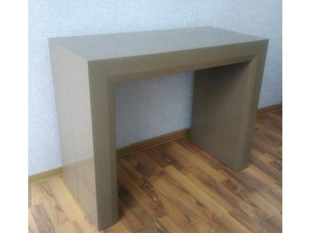 Стол трансформер, консоль, обеденный стол и стулья