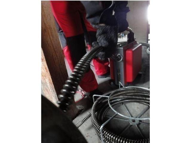 Устранение засоров канализации + телеинспекция