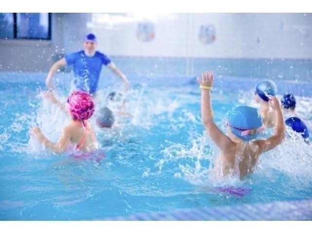 Детская школа плавания Океаника приглашает на пробное бесплатное занятие!