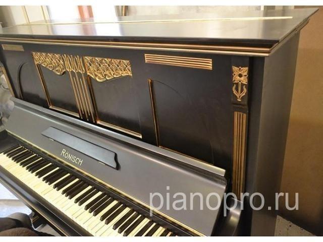 Реставрация, ремонт пианино и роялей. Покраска и настройка. - 1/4